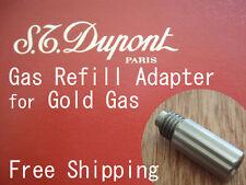 NEU GAS Befüll Adapter passend für Gold S.T. Dupont Feuerzeug