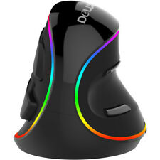 4000 DPI Ergonnomic Vertical Optical Gaming Mouse RGB Backlit For PC Laptop Mac