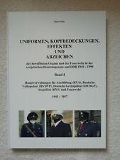 Buch Uniformen DDR 1945-54/57 DVP DGP Seepolizei Feuerwehr Band I
