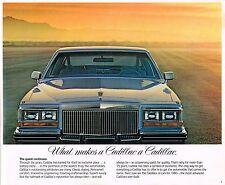Big 1980 CADILLAC Brochure: ELDORADO,FLEETWOOD,Coupe/Sedan De VILLE,SEVILLE,LIMO