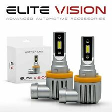 Elite Vision Astrea H11 LED Headlight Foglight Bulbs Kit for Chevrolet Hi/Lo 6K