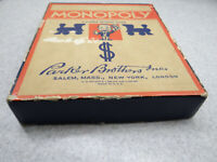 Vintage Parkers Brothers Monopoly Game Wooden Pieces