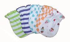 Mix Design - 5 Pairs Cotton Newborn Baby/infant No Scratch Mittens Gloves