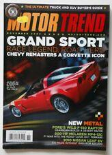 MOTOR TREND November 2009 Ford F150 Raptor McLaren MP4-12C Nissan Leaf EV