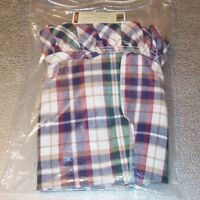 Longaberger Woven Traditions Plaid WORK-A-ROUND Basket Liner ~ Brand New in Bag!
