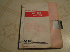 Massey Ferguson 230 Tractor Parts Book Manual Catalog