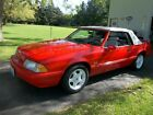 1992 Ford Mustang  1992M FORD MUSTANG LX 5.0 CONVERTIBLE  RED LIMITED EDTITION