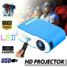 Home Projector WiFi 3D HD 1080P LED Video Theater Multimedia USB 7000 Lumens