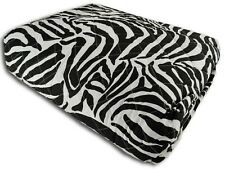 QUILT TRAPUNTINO ESTIVO 3 MISURE COPRILETTO TRAPUNTATO Zebrato Zebra Etnico nero