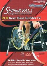 SPINERVALS COMPETITION SERIES AERO BASE BUILDER IV INDOOR BIKE WORKOUT DVD NEW