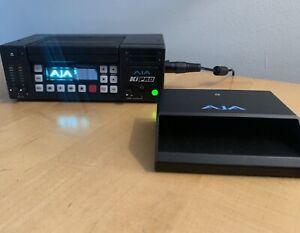 AJA Ki-Pro Portable Video Recorder w/250GB  Module And High Speed KiStor Dock