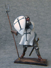Crusader with halberd. 54 mm. Elite tin soldiers St. Petersburg