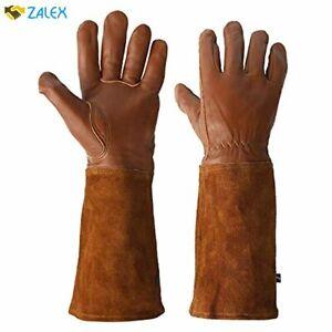 KIM YUAN Rose Pruning Gloves for Men and Women. Thorn Proof Goatskin Leather Gar