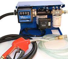 1Stk 230 Volt Dieselpumpe Blue Ed Tank Diesel Filter Reinigung mit Piusi Pumpe