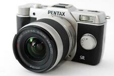 Used mirror-less camera Pentax Pentax Q10 silver lens kit with SD card Limit