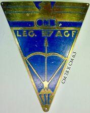 Scudetto da braccio Fascismo O.N.B. Legione 117 A.G.F. C.S.E.
