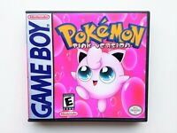 Pokemon Pink Version English Game / Case Gameboy (GBC / GBA) USA Seller