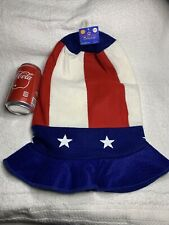 "2004 Jo-Ann Stores Patriotic Collection American Hat ""Uncle Sam� Decoration"