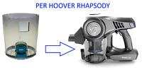Contenitore Serbatoio Polvere per Aspirapolvere HOOVER Ricambi RHAPSODY RA22