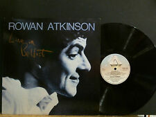 ROWAN ATKINSON  Live In Belfast   LP   Comedy      Lovely copy!