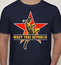 Muay Thai Republic T-Shirt fairtex twins buakaw ufc tiger triumph united MEDIUM