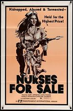 NURSES FOR SALE 1971 Movie Poster 27x41 #MoviePoster #Exploitation #Grindhouse