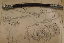 Hillman Imp Mk2 Embrague Cilindro Esclavo Manguera De Tubería (De 1968 - 76)