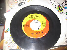 The Beatles; We Can Work It Out  on 45