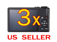 3x Canon PowerShot S110 Digital Camera LCD Screen Protector Guard Cover Film