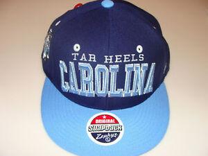Zephyr North Carolina Tarheels Snapback Cap Hat NCAA OS