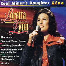 Coal Miner's Daughter: Live by Loretta Lynn (CD, Feb-1997, Country Stars)