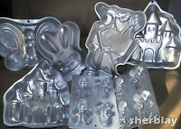 Wilton Cake Pan Baking Mold Candy Cookies Jello Kids Party Holiday
