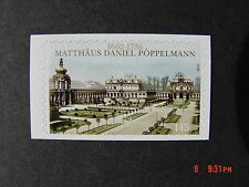 BRD 2915** skl. aus Folienblatt 20  350 Jahre Matthias Daniel Pöppelmann