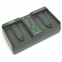 Wasabi Power Dual Battery Charger for Nikon MH-26, MH-26aAK, EN-EL18, EN-EL18a