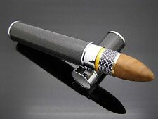 """COHIBA CARBON FIBRE STAINLESS STEEL CIGAR HUMITUBE """"SHIPPED FAST FROM USA"""""""