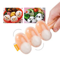 Rice Ball Molds Sushi Balls Maker Mould Spoon Kitchen Cooking Utensil Tool Set w