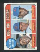 1969 Topps #4 Willie McCovey/Ron Santo/Billy Williams EX/EX+ N.L. RBI ID: 130702