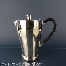 Kultige 50er WMF Kanne versilbert Mid-Century pot pitcher 1950s vintage
