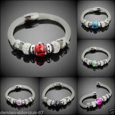 Cubic Zirkonia-Modeschmuck-Armbänder für Damen-Edelstahl