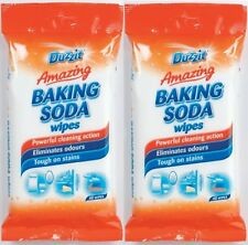 80 PACK Baking Soda Wipes Powerful Cleaning Action Eliminate odours Stains