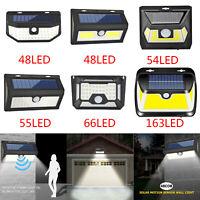 800LM 48 COB LED Solar Wall Light Outdoor Garden Security Lamp PIR Motion Sensor