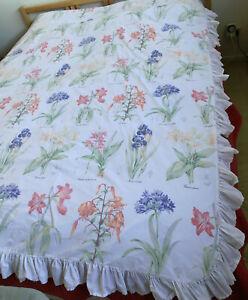 Vintage Actil Sheridan Cottage Style DB Duvet Cover & 2 Pillow Slips