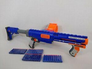 Nerf N-Strike Raider CS-35 Gun Blaster Drum Magazine Adjustable Stock 40 Bullets