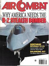Air Combat Sept.1990 USAF B-2 Stealth Bomber Northrop ATF YF-23 Yugoslavia