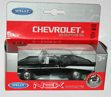 Welly - CHEVROLET Bel Air 1957 (Black) Model Scale 1/39
