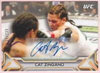 CAT ZINGANO 2016 TOPPS UFC KNOCKOUT AUTO #239/239 AUTOGRAPH SIGNED CARD