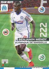 112 BENJAMIN MENDY FRANCE OM OLYMPIQUE MARSEILLE CARD ADRENALYN 2016 PANINI