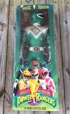 "Ultra Rare Mighty Morphin Power Rangers Mega Size 36"" GREEN RANGER 1994 MMPR"