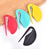 2pcs Plastic Letter Opener Mini Sharp Mail Envelope Opener Safety Papers Cutter