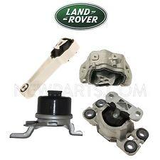 For Land Rover LR2 Upper & Lower & Front Engine Motor & Transmission Mounts Kit